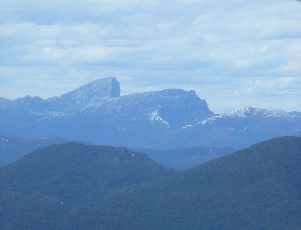 Frenchman's Cap - aerial view - Tasmania by gaylene