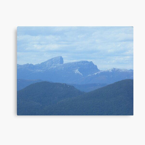 Frenchman's Cap - aerial view - Tasmania Canvas Print