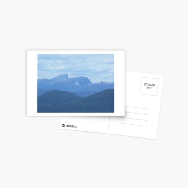Frenchman's Cap - aerial view - Tasmania Postcard