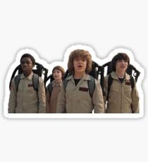 Stranger Things Ghost Busters Sticker