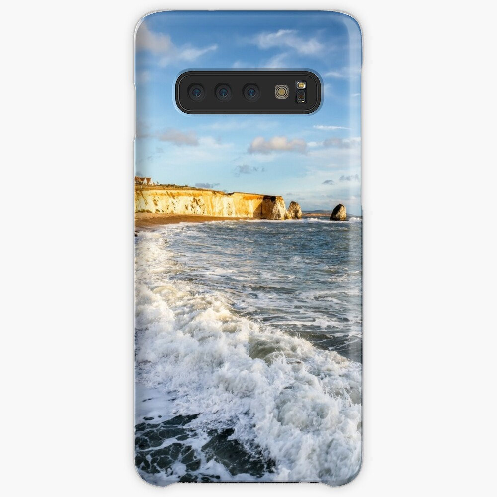 Freshwater Bay Beach Isle Of Wight Cases & Skins for Samsung Galaxy