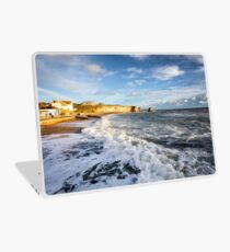 Freshwater Bay Beach Isle Of Wight Laptop Skin