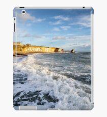 Freshwater Bay Beach Isle Of Wight iPad Case/Skin