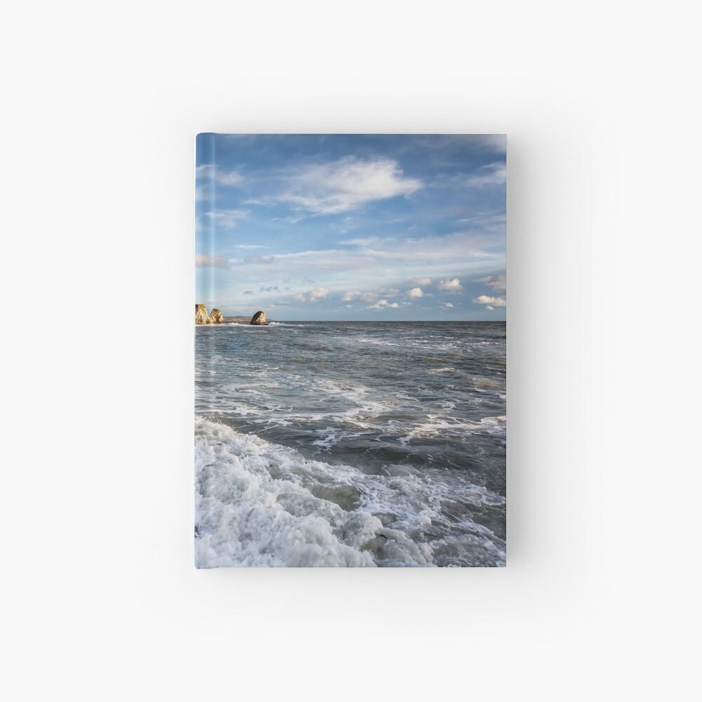 Freshwater Bay Beach Isle Of Wight Hardcover Journal