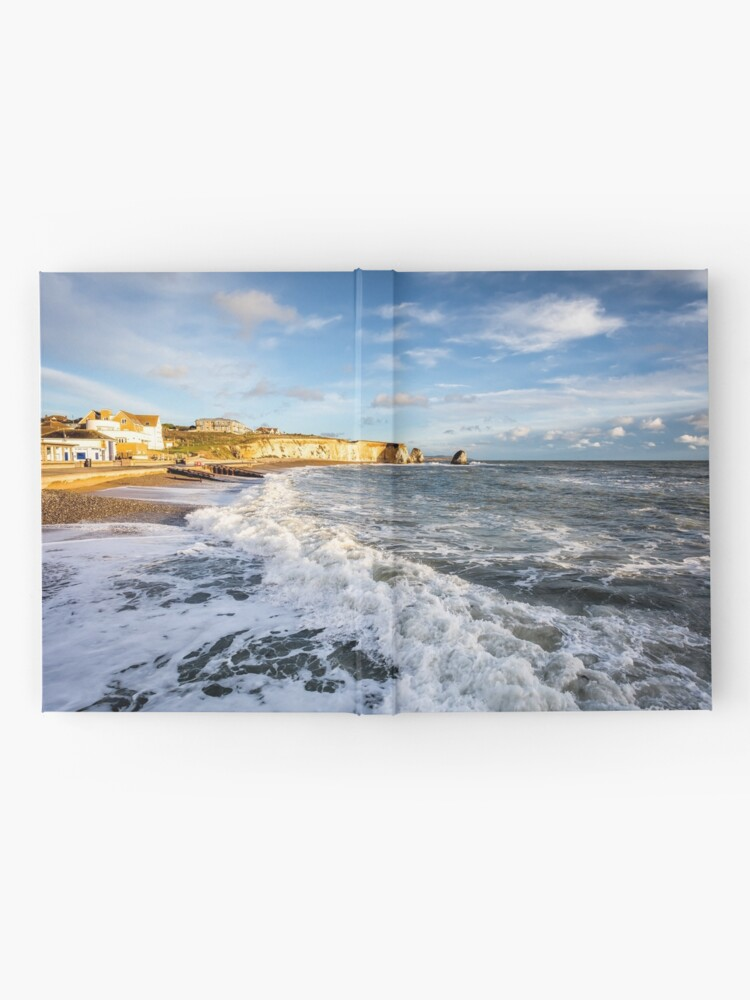 Alternate view of Freshwater Bay Beach Isle Of Wight Hardcover Journal