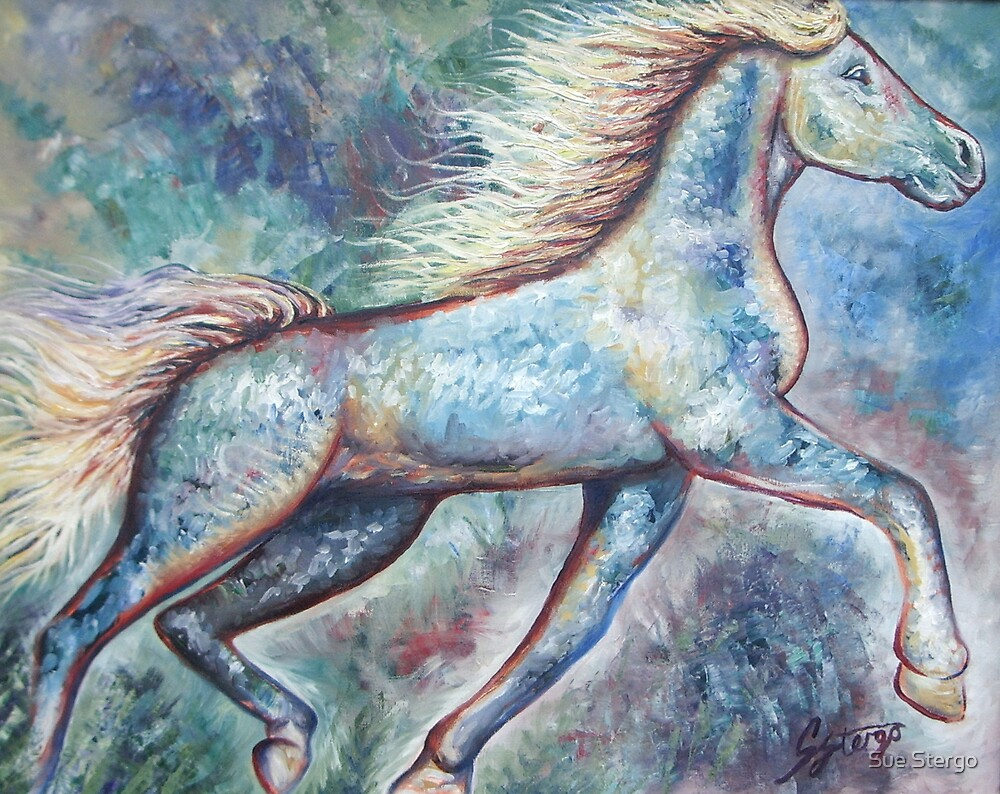 Hooves In The Breeze by Sue Stergo