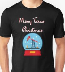 Merry Christmas from Texas Oil Country Unisex T-Shirt