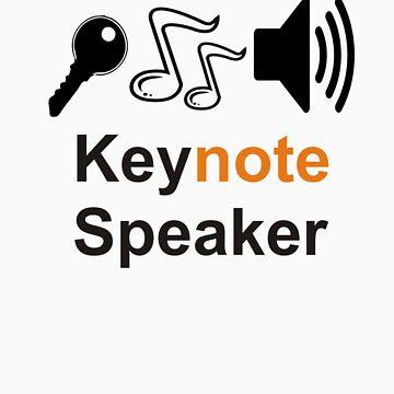 keynote speaker by redbubrez