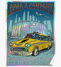 Art Dead Company, Madison Square Garden  New York City Poster