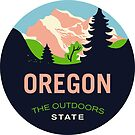 Oregon Stickers by eddycasanta