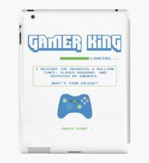 Gamer King iPad Case/Skin