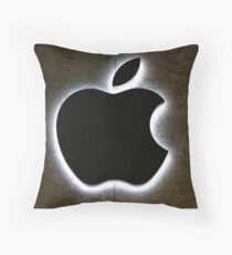 Apple Store Logo Throw Pillow