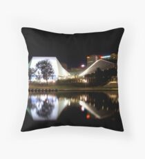 Festival Centre at Night Throw Pillow