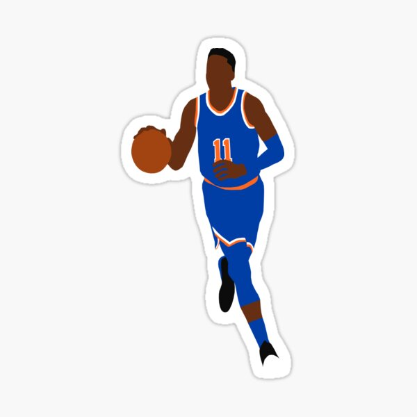 NY Knicks Oval Car Magnet Made In The USA Basketball Sports Waterproof
