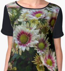 Autumn flowers Women's Chiffon Top
