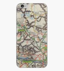 Manipulated Map  iPhone Case