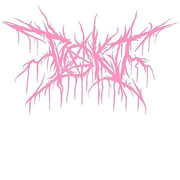 POKI black metal logo by steveboyd