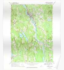 Maine USGS Historical Map Livermore Falls 460574 1967 24000 Poster