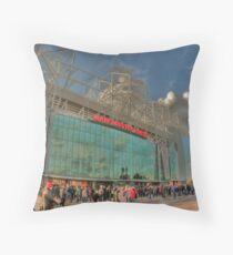 Theatre of Dreams Throw Pillow
