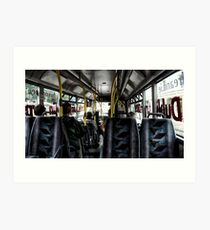 """A mile and a half on a bus takes a long time"" (P1140285 _XnView) Art Print"