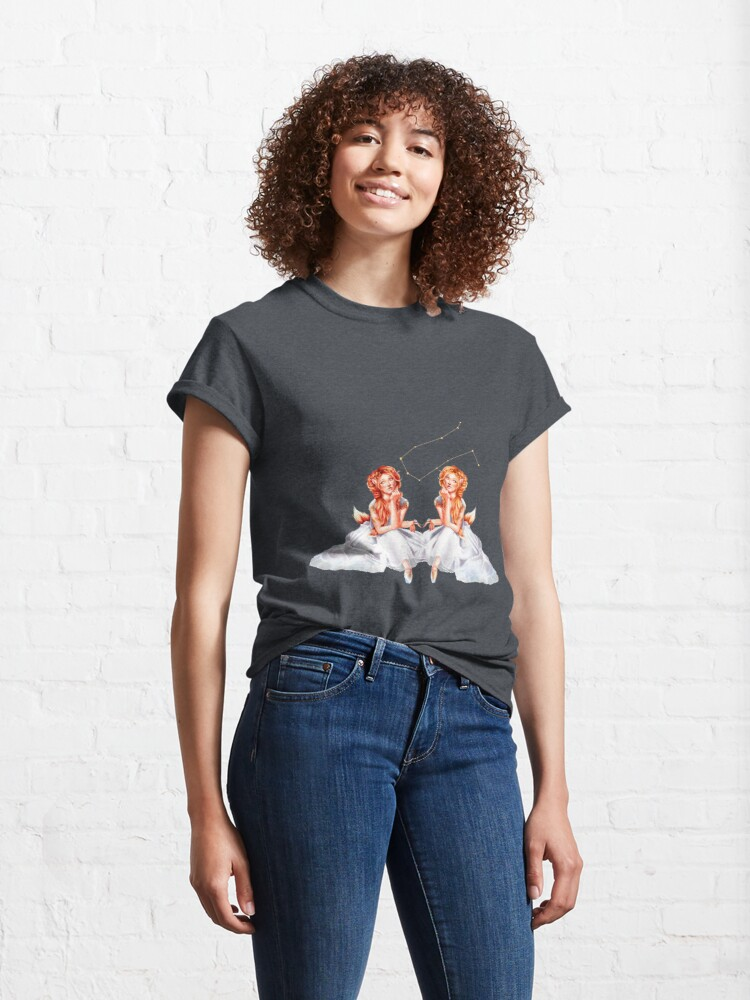 Alternate view of Gemini OC - 12 Zodiac Ladies Classic T-Shirt