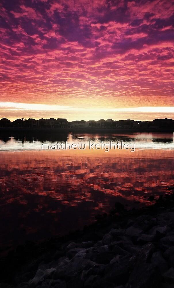 Port Adelaide Sunrise by matthew keightley