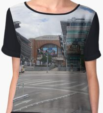 Dallas Downtown - Victory Park - Olive and N. Houston - American Airlines Center Chiffon Top