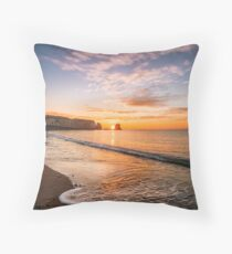Freshwater Bay Sunrise Throw Pillow