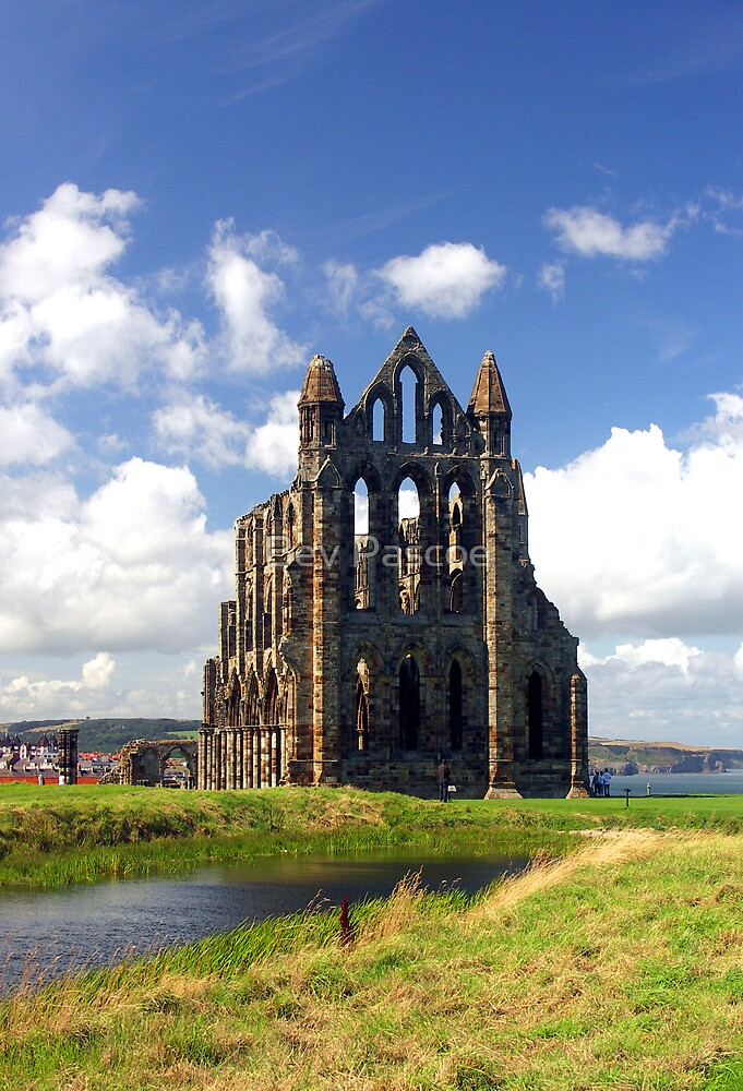 Whitby Abbey, Yorkshire by Bev Pascoe