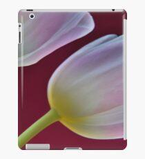 Two pink tulips iPad Case/Skin