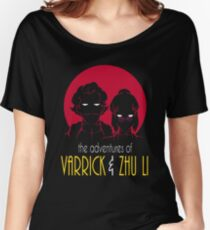The Adventures of Varrick & Zhu Li Women's Relaxed Fit T-Shirt
