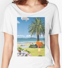 Langs Beach - Northland, New Zealand Women's Relaxed Fit T-Shirt