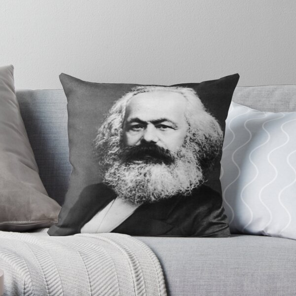 Karl Marx Cojín