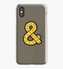 Ampersand Measuring Tape iPhone Case/Skin