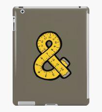 Ampersand Measuring Tape iPad Case/Skin