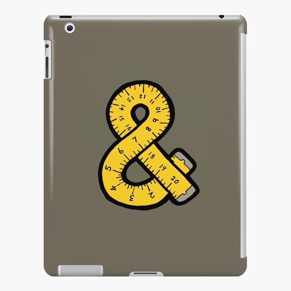 Ampersand Measuring Tape iPad Case & Skin