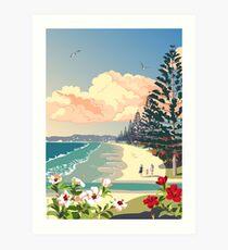 Orewa Beach, New Zealand Art Print