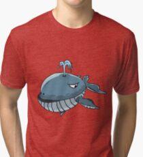 Whale #1 Tri-blend T-Shirt