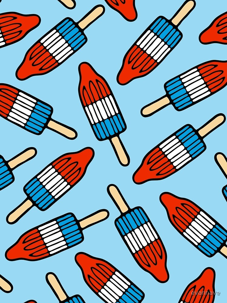 Rocket Popsicle Pattern by evannave