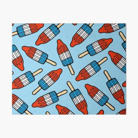 Rocket Popsicle Pattern Art Board Print