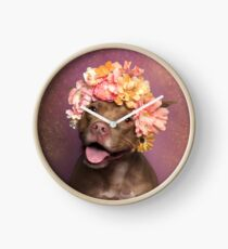 Flower Power, Topaz Clock