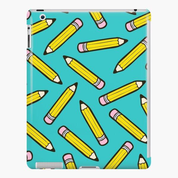 Pencil Power Blue Pattern iPad Snap Case