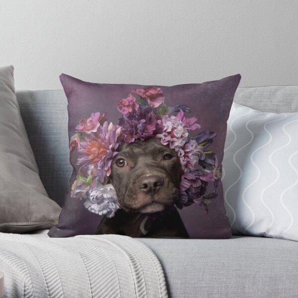Flower Power, Dax Throw Pillow