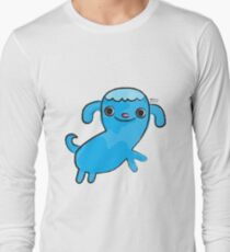 Blue Dog, Animal Lovers, Whimsical Illustration T-Shirt
