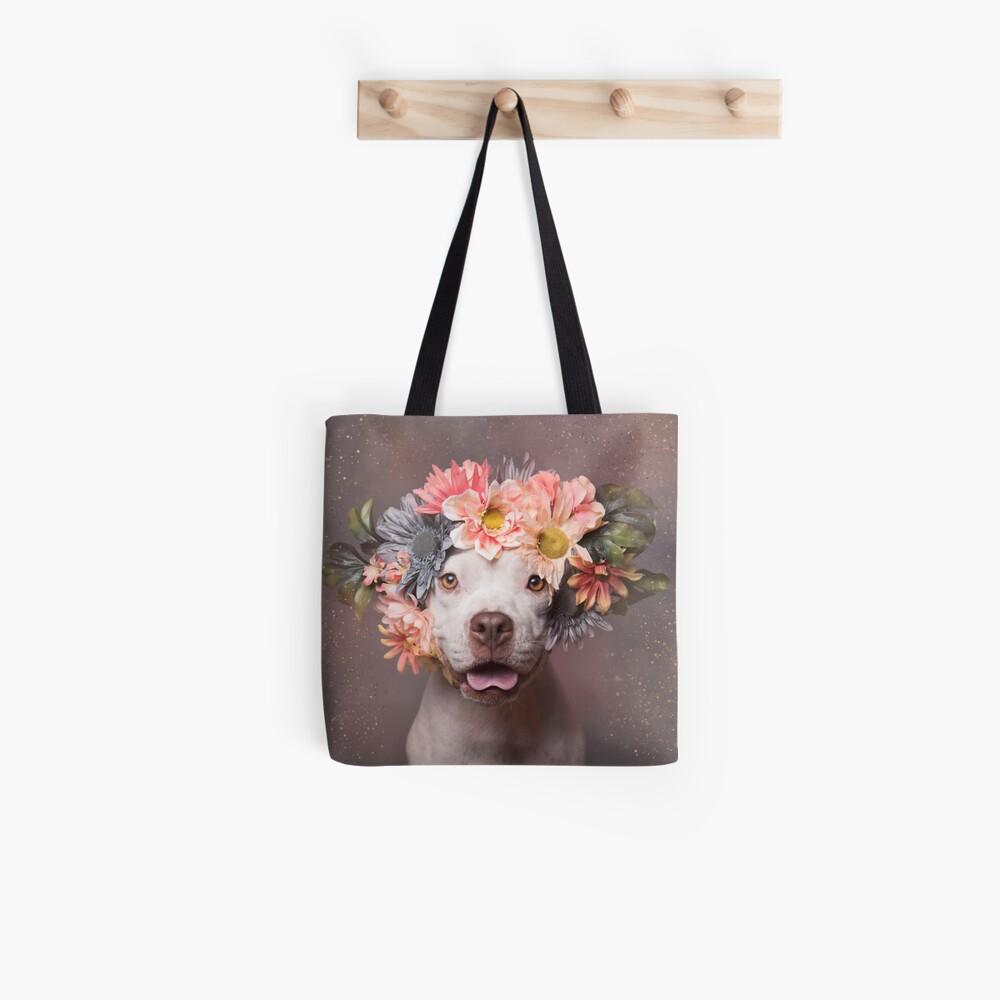 Flower Power, Efeu Tote Bag