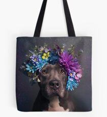 Flower Power, Schicksal Tote Bag