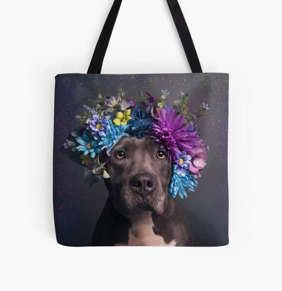 Flower Power, Destiny All Over Print Tote Bag