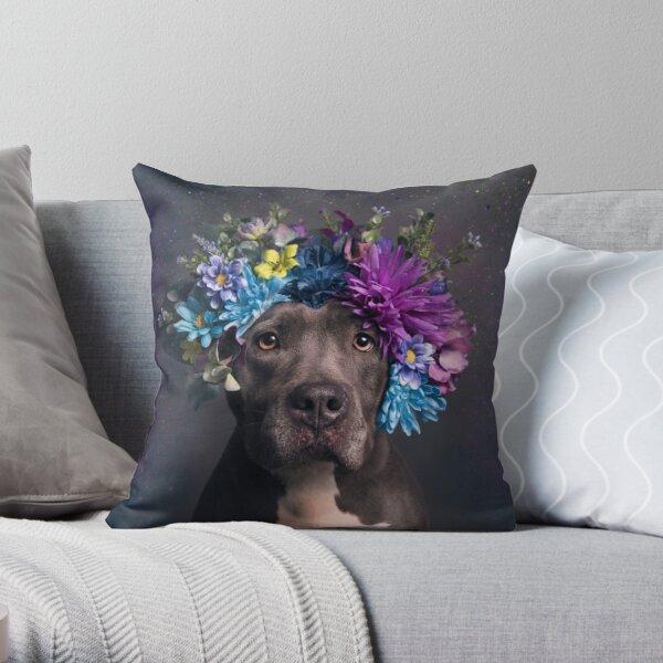 Flower Power, Destiny Throw Pillow