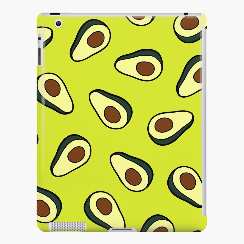 Avocado Pattern iPad Snap Case