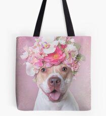 Flower Power, Blüte Tote Bag